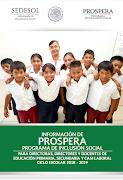 Programa Prospera 2018-2019
