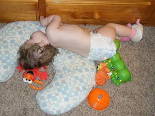 Asleep in the Play Room
