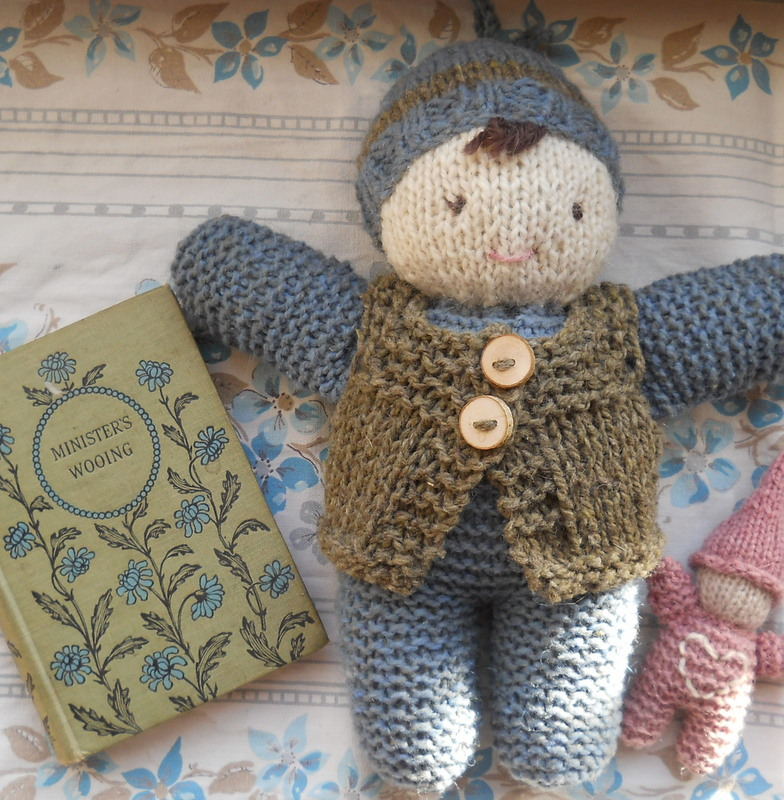 Natural Earth Farm: Hand Knit Simple Baby Doll