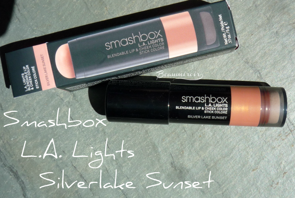 Smashbox L.A. Lights in Silver Lake Sunset cream blush stick