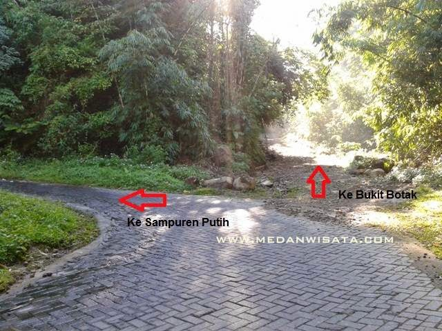 Panorama Alam dari Bukit Botak Bandar Baru Sibolangit