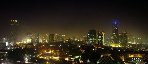Jakarta-at-night (Indonesia)