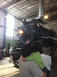 Oregon Rail Heritage Foundation train day