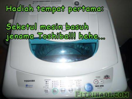 mesin basuh toshiba