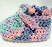 Loving Hugs Preemie Booties Pattern