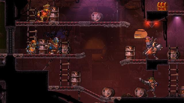 La estrategia y acción 2D de SteamWorld Heist llegará primero a 3DS en este mes de diciembre