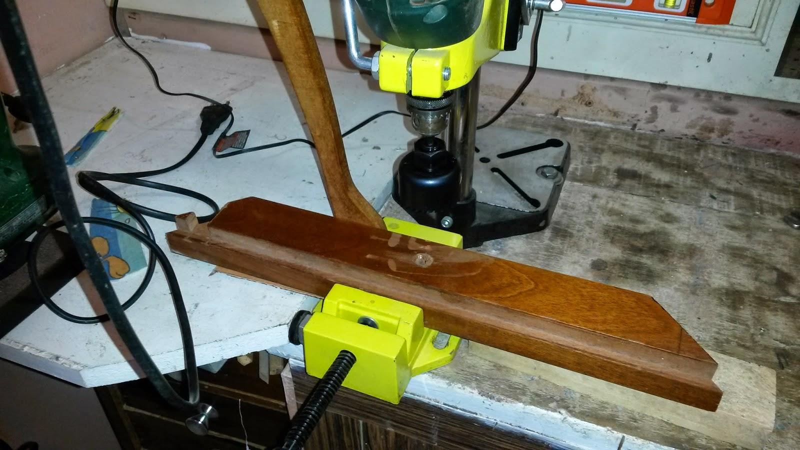 Oficina do Quintal: Como fazer uma bancada para tupia Parte II #A5B516 1600x900