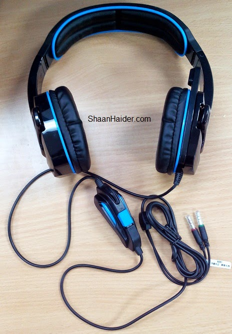 Sades SA 708 Gaming Headset : Hands-On Review