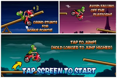 Scooter Hero Motorcycles Games for Android Phones