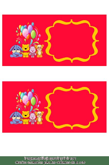 Decorar cumpleaños con winnie the pooh