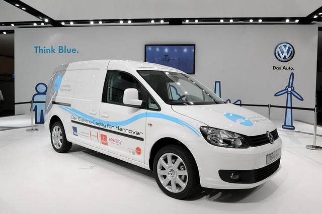 Volkswagen Caddy Maxi Vehicle's electric