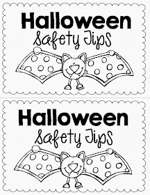 coloring pages halloween safety videos - photo#29