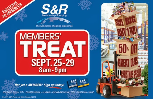 S & R Membership Shopping Davao Super Sale