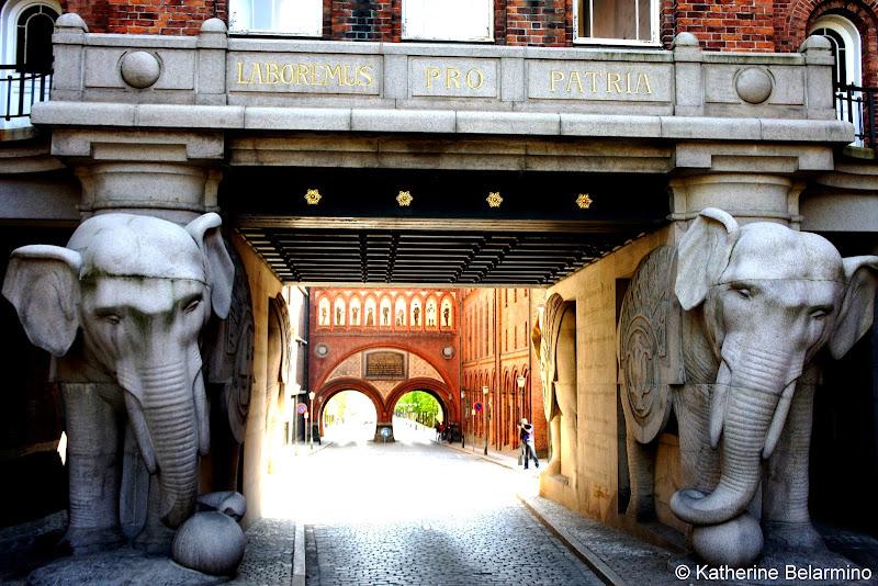 Carlsberg Brewery Elephant Gate Copenhagen Denmark