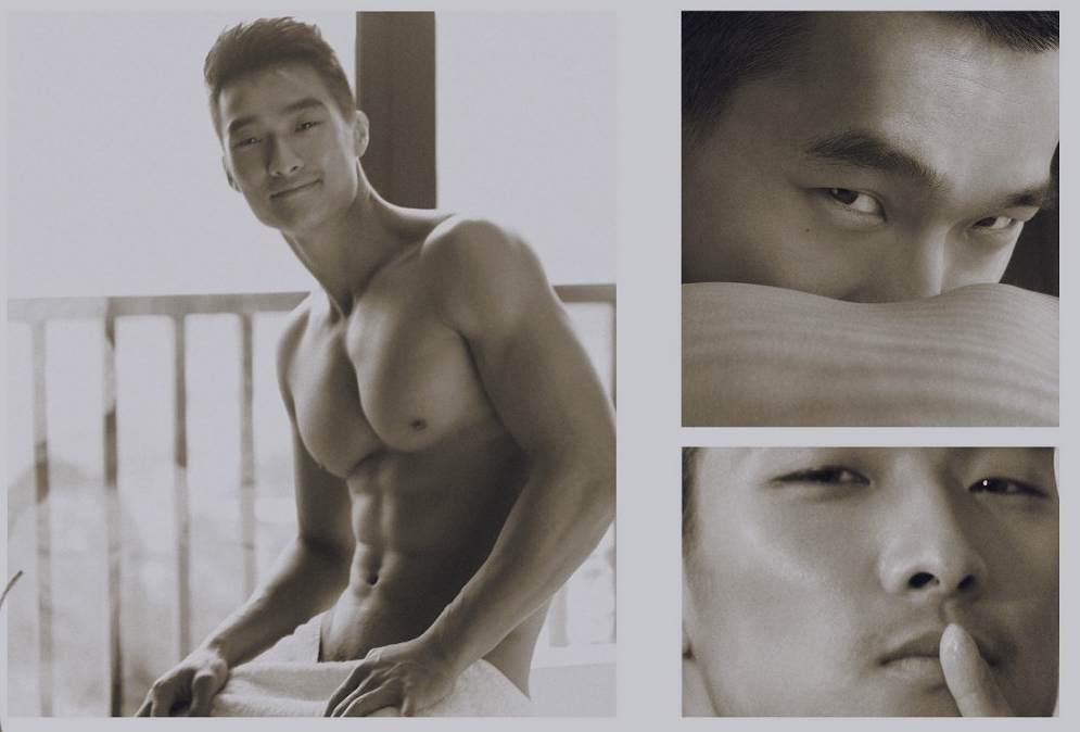 Sexy Asian Male Model - Jin Xiankui