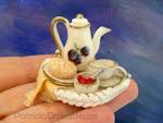 Bandeja con Desayuno Miniatura
