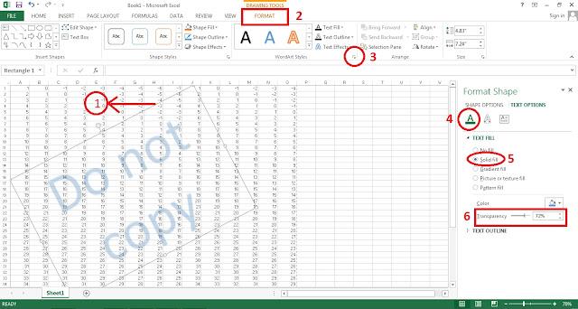 Excel wordart2
