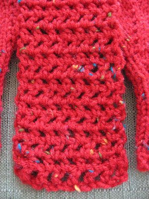 Crocheted Skinny Scarf for Grace