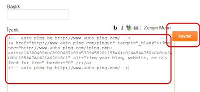 Auto Ping Sitesi