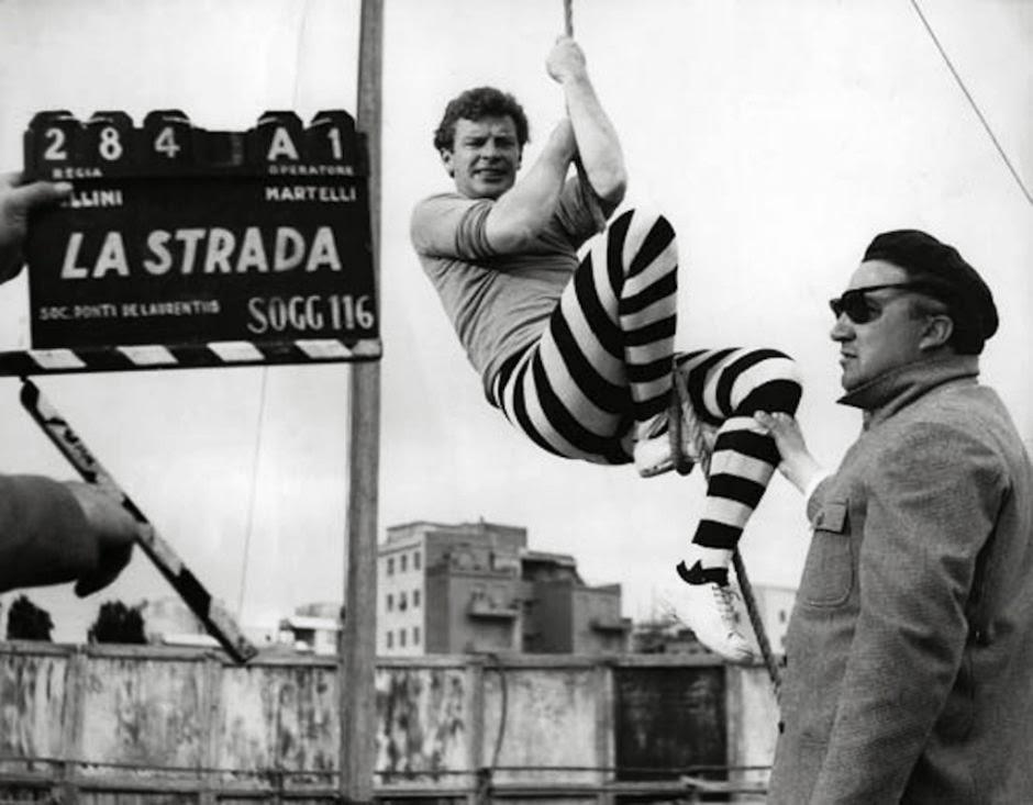 la strada di Fellini