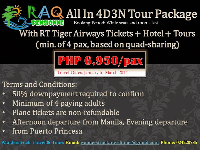 4D3N All in Package via Tiger Airways