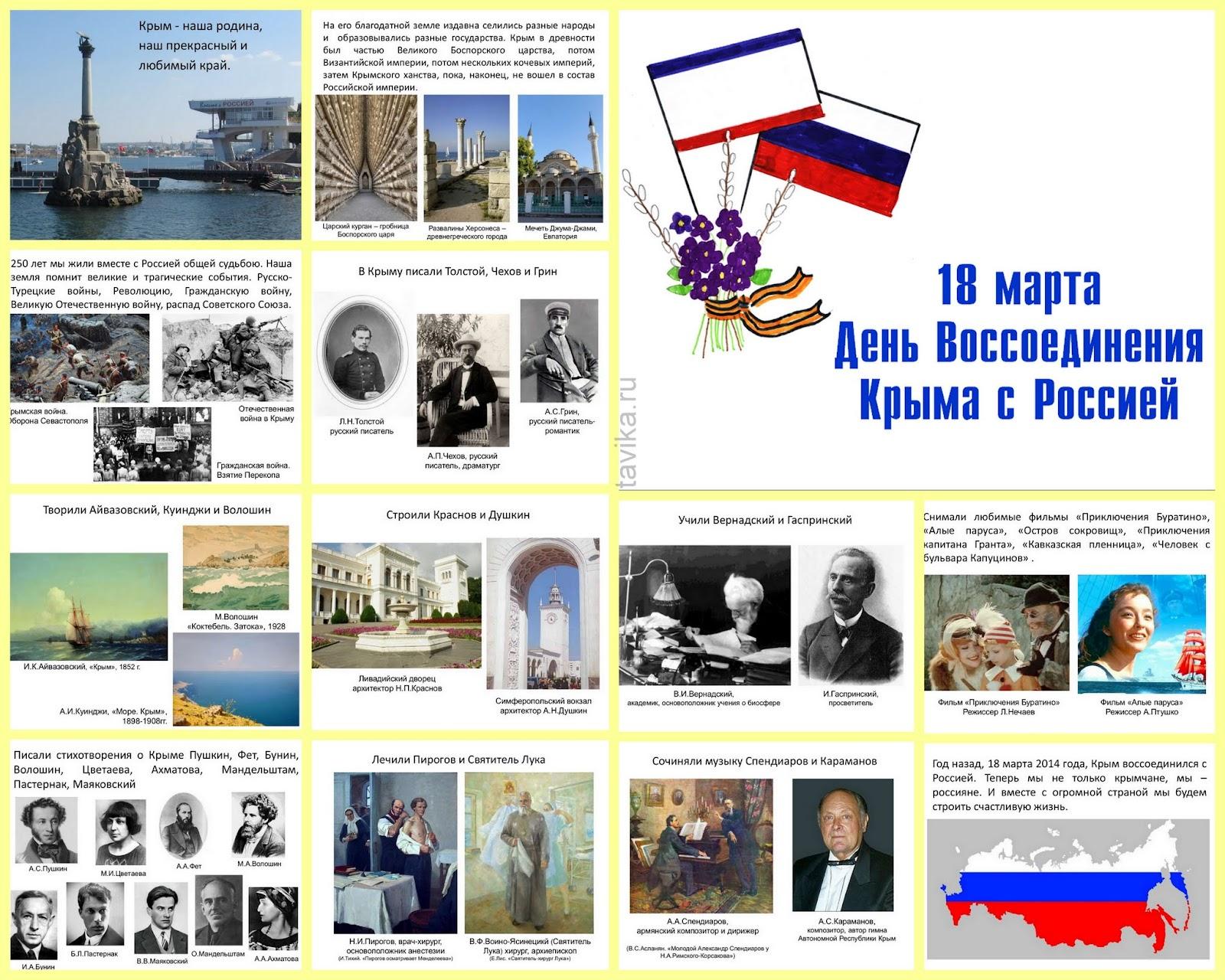 """Презентация """"День воссоединения Крыма с Россией"""""""