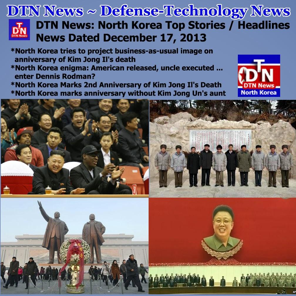 North Korea Latest News: Defense-Technology News: DTN News: North Korea Top Stories