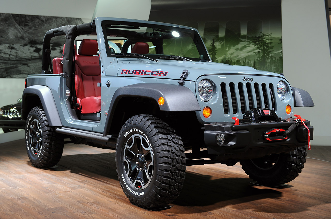 2014 Jeep Wrangler Rubicon Colors
