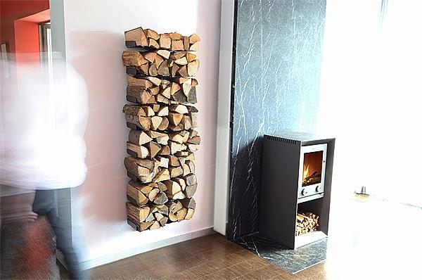 O ranger le bois pour l 39 hiver caract rielle - Range buche interieur design ...