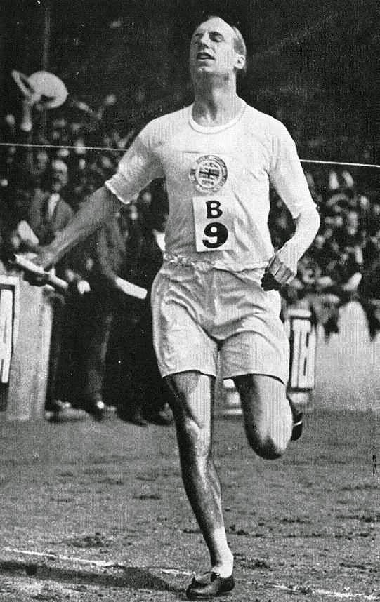 Eric Liddell. Olympic 400m champion.