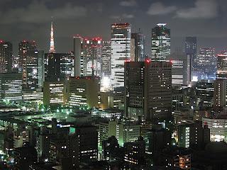 Tokyo Night Building