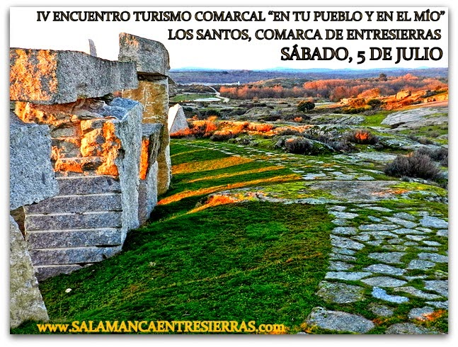 """5/Julio.  IV Encuentro """"En tu pueblo y en el mío"""" y Fiesta del Solsticio. Los Santos"""