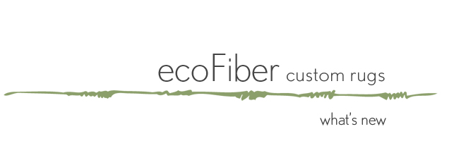 ecoFiber custom rugs