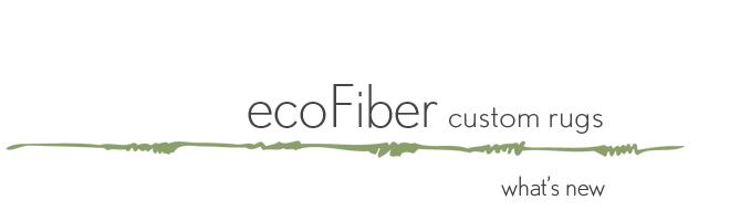 ecoFiber custom rugs