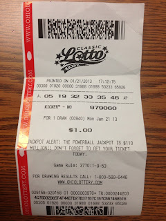 Ohio Classic Lotto ticket