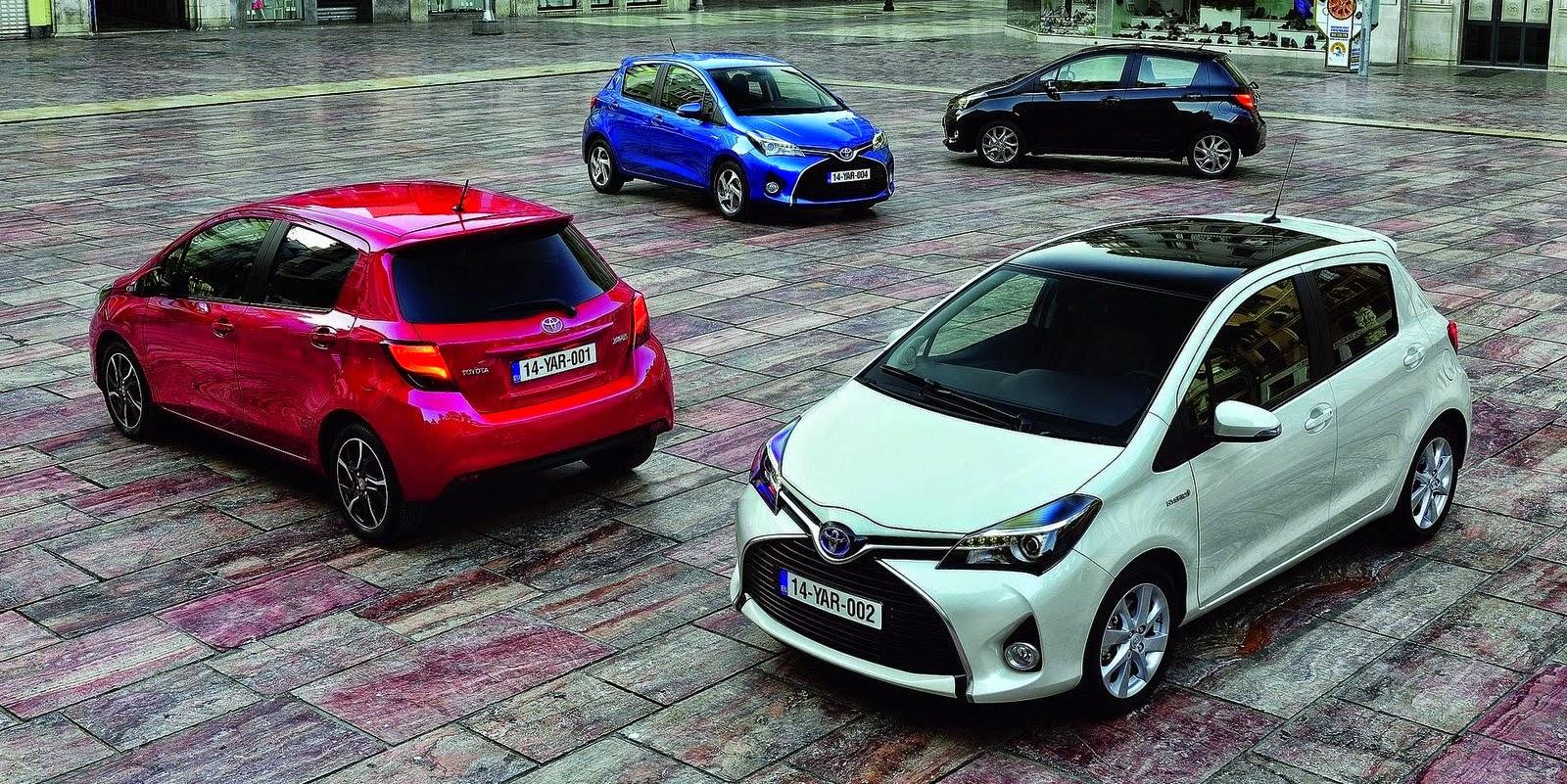 Giá xe ô tô Toyota 2015 cập nhật mới nhất
