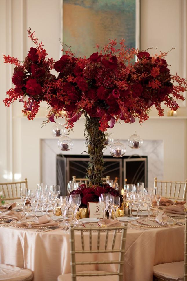 Stunning wedding centerpieces part belle the magazine