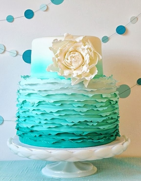 Tiffany Blue Cake Design : Tiffany Blue Wedding Cakes Car Interior Design