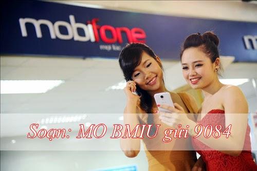 Đăng ký gói cước BMiu Mobifone