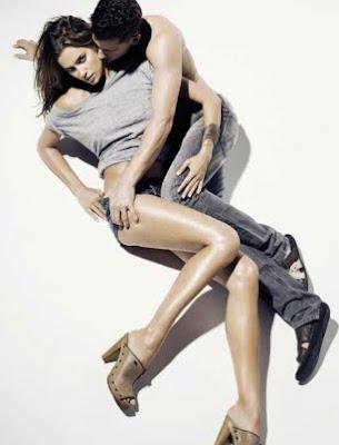 preciosa irina shayk en fotos publicitarias