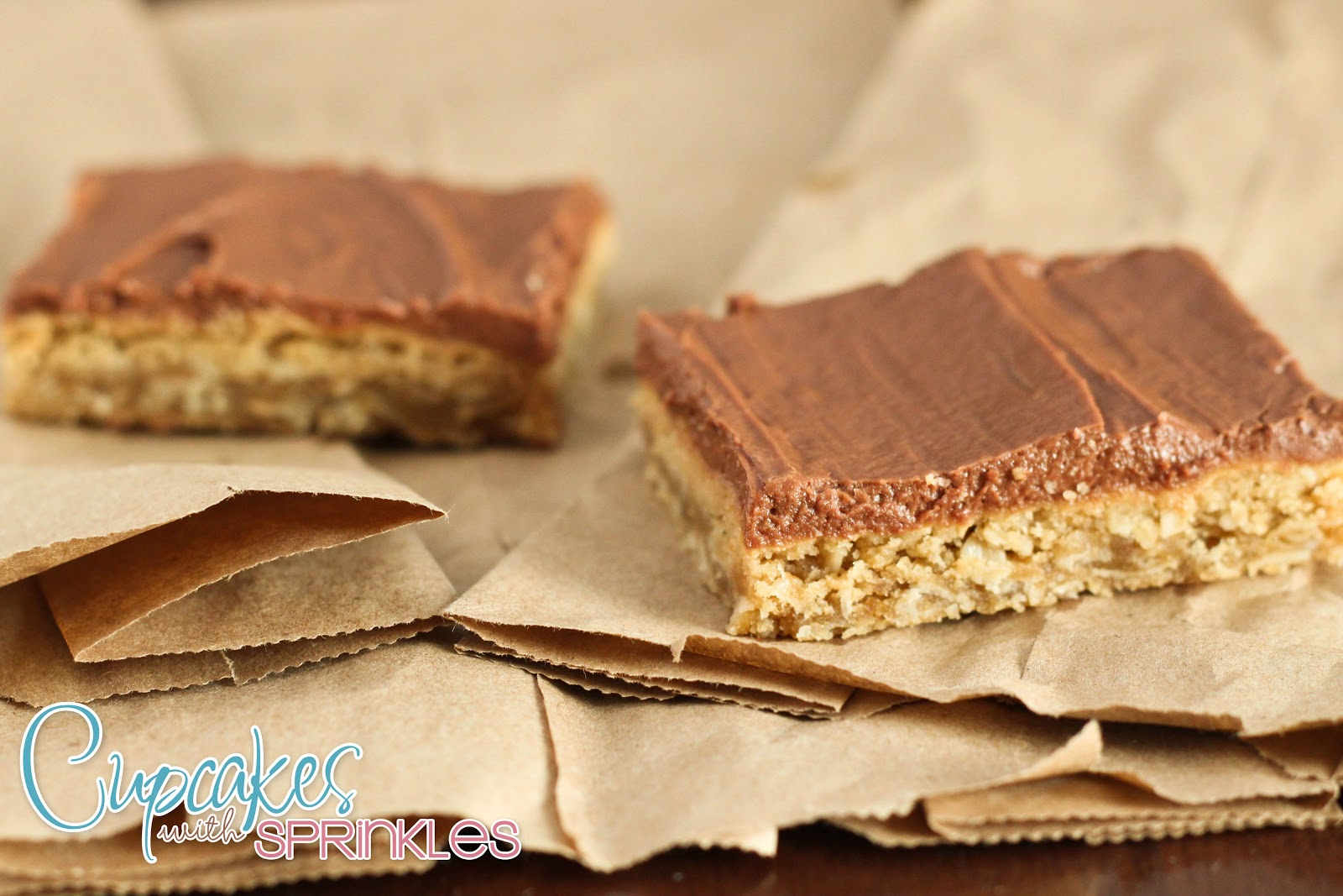 Cupcakes with Sprinkles: Peanut Butter Bars