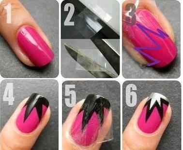 Ladies Nails Fashion Tutorials...