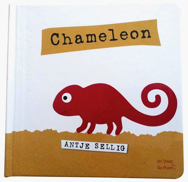 Chameleon print braille product APH cover image