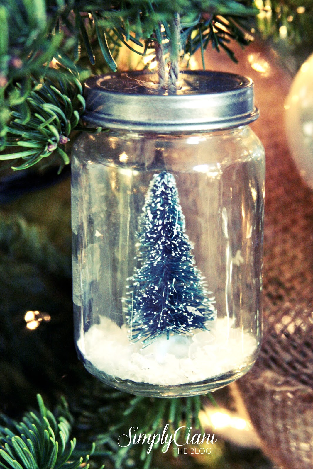 Mason jar ornaments - Mason Jar Ornaments 3