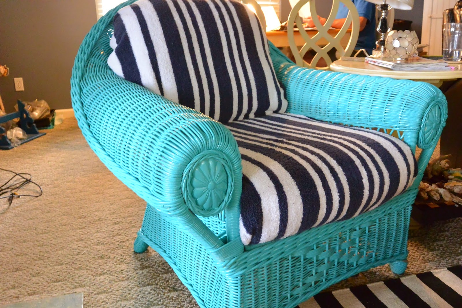 Do Any Of You Have Hand Me Down Furniture? The Family Beach House Came  Furnished, So We Are Getting Creative With Ways To Update Old And Tired  Pieces While ...