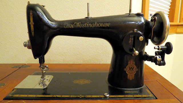 Free-Westinghouse vintage sewing machine
