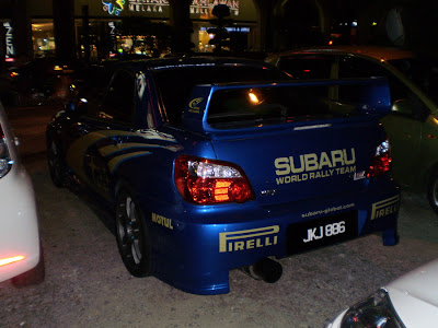 Impreza STI Ver 8 Rally Look