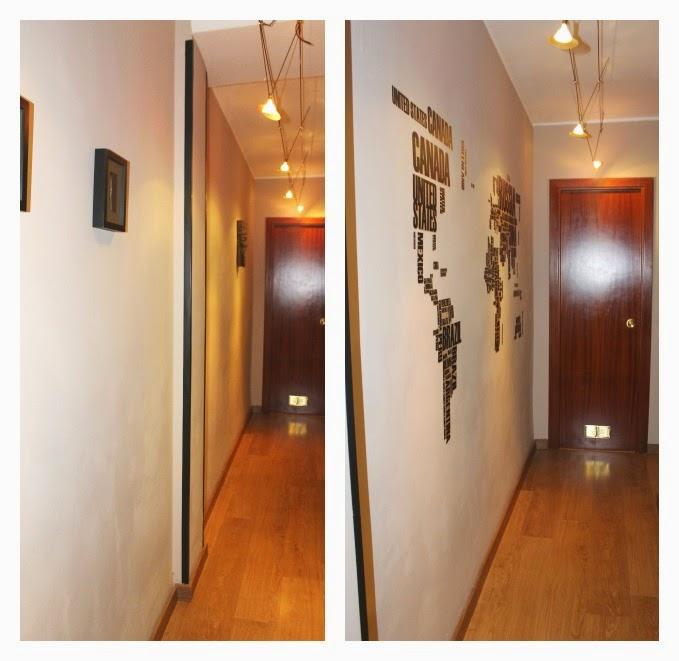 Mi rinc n de sue os decorar con vinilo el pasillo for Vinilos pared pasillo