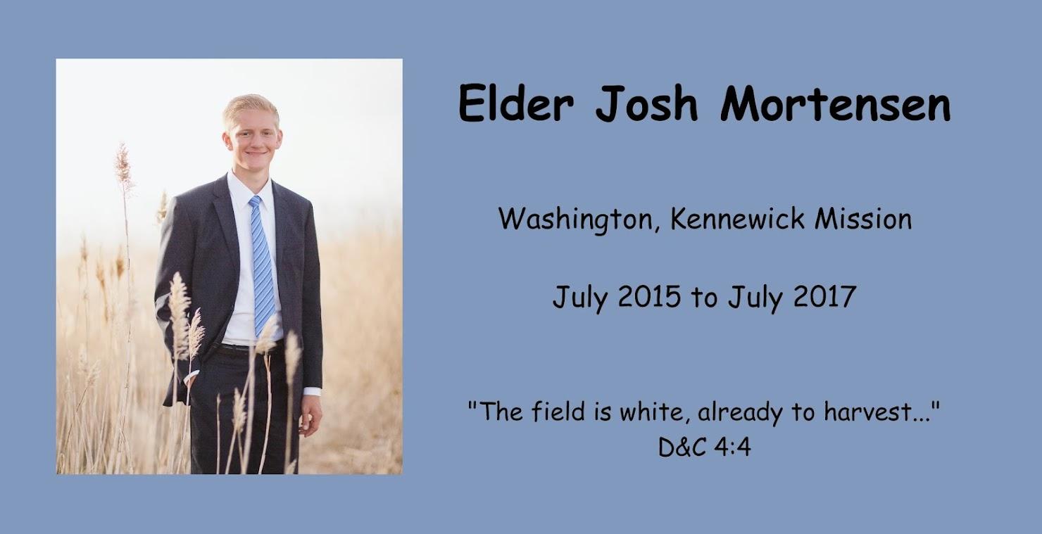 Elder Josh Mortensen