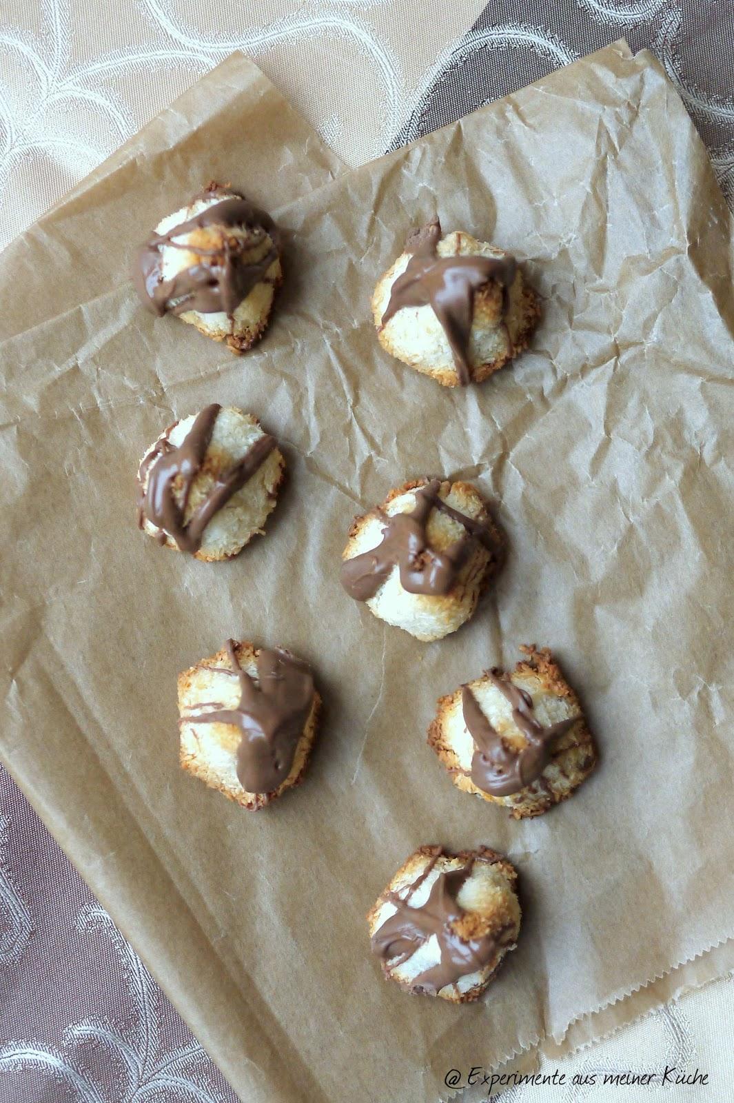 Experimente aus meiner Küche: Marzipan-Kokos-Berge [Weihnachtsbäckerei]